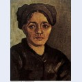 Head of a peasant woman with dark cap 1885 4 1