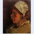 Head of a peasant woman with white cap 1885 3 1