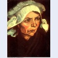 Head of a peasant woman with white cap 1885 4 1