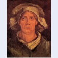 Head of a peasant woman with white cap 1885 6