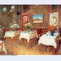 Interior of a restaurant 1887 1