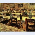 Interior of a restaurant in arles 1888