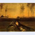 Landscape at dusk 1885