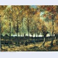 Lane with poplars near nuenen 1885