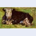 Lying cow 1883