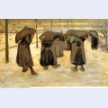 Miners wives carrying sacks of coal 1882