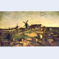 Montmartre the quarry and windmills 1886