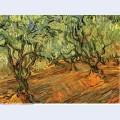 Olive grove bright blue sky 1889 1