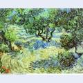 Olive grove bright blue sky 1889