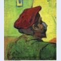 Paul gauguin man in a red beret 1888