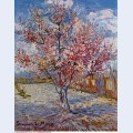Peach tree in bloom in memory of mauve 1888