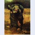 Peasant woman digging 1885 2