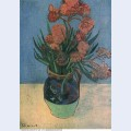 Still life vase with oleanders 1888