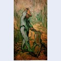 The woodcutter after millet 1890