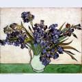 Vase with irises 1890