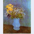 Vase with lilacs daisies and anemones 1887