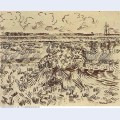 Wheat field with sheaves 1888 1