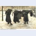 Women miners 1882