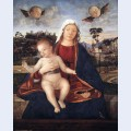 Madonna and blessing child