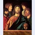 Saviour blesses the four apostles
