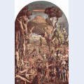 The crucifixion and the glorification the ten thousand martyrs on mount ararat
