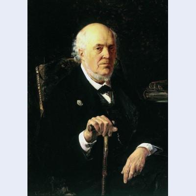 A portrait of e i makovsky