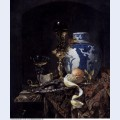 Still life with a late ming ginger jar 1669