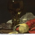 Still life with drinking horn detail