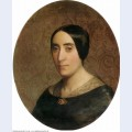 A portrait of amelina dufaud 1850