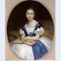 Portrait of mlle brissac 1863