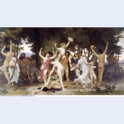 The youth of bacchus 1884