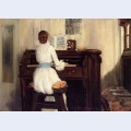 Mrs meigs at the piano organ