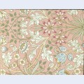 Wallpaper hyacinth pattern