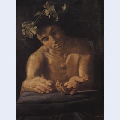 Dionysus drunk