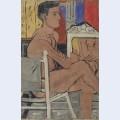 Italian nude sitting