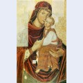 Icon of the mother of god from the bilostok monastery iconostasis