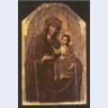 Icon of the mother of god from the maniava hermitage iconostasis