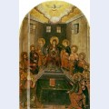 Icon the descent of the holy spirit from the bilostok monastery iconostasis earlyth century