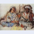 Musicians arab and negro