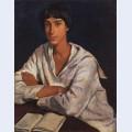 Portrait of e i zolotarevskii in childhood