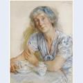 Portrait of geraldine cobb