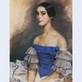 Portrait of n geydenreyh in blue