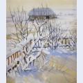 Winter landscape neskuchnoye