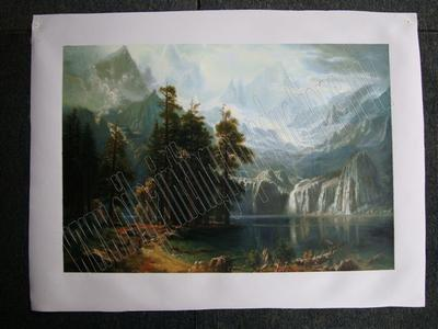 Sierra nevada - oil painting reproduction