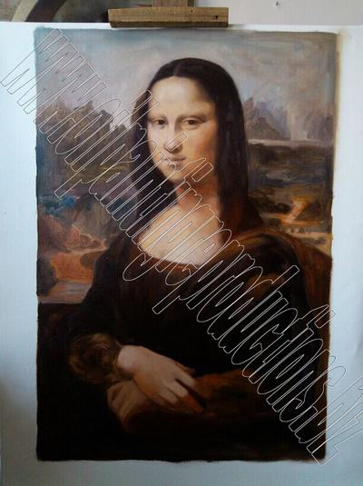 Mona lisa - oil painting reproduction