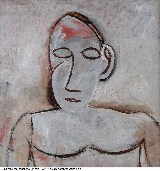 Buste de femme a la grande oreille 1907 - Pablo Picasso [French ...