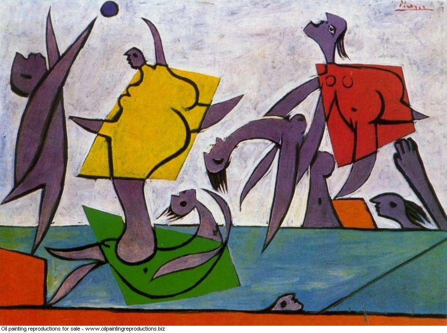 Le sauvetage jeu de plage et sauvetage 1932 - Pablo Picasso ...