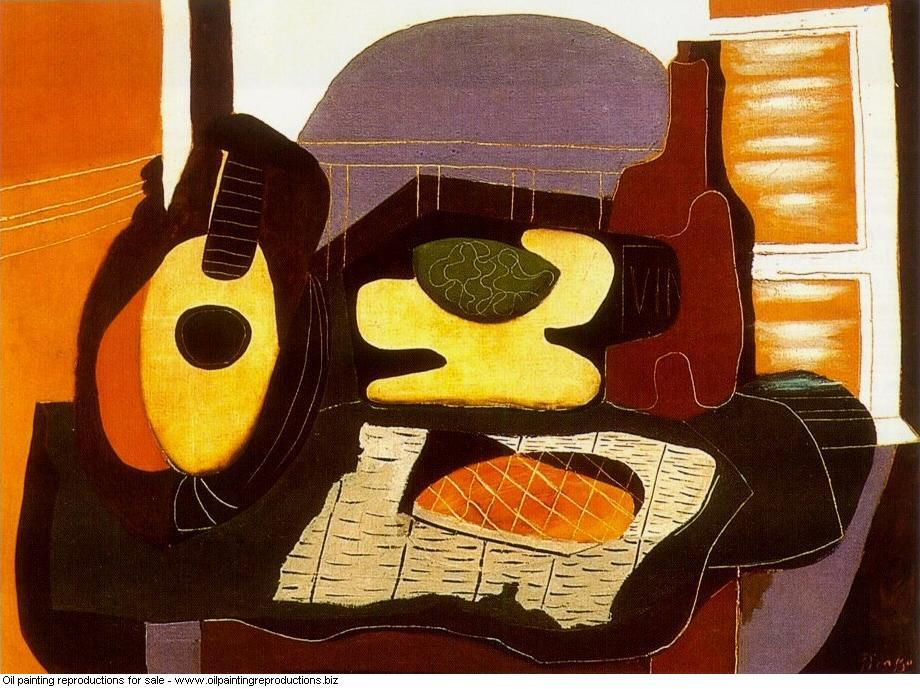 Nature morte a la galette 1924 - Pablo Picasso [French] - Oil ...