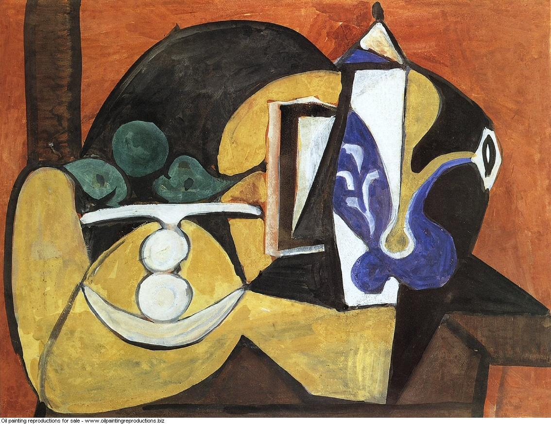 Nature morte au compotier et a la cafetiere 1947 - Pablo Picasso ...