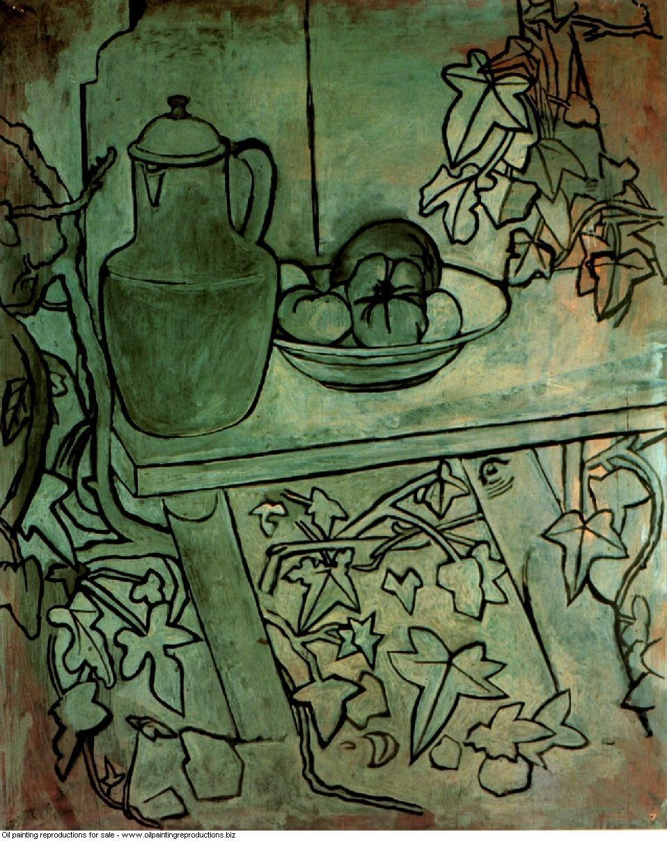 Nature morte aux tomates 1920 - Pablo Picasso [French] - Oil ...